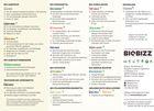 BioBizz Düngeschema Seite 2