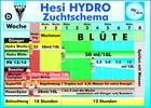 Hesi Zuchtschema Düngeschema Hydro