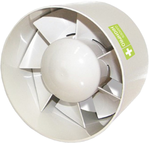 Garden HighPro Inline Fan 100 mm