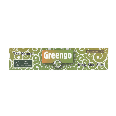 Greengo King Size SLIM, unbleached