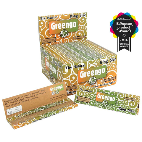 Greengo King Size regular, unbleached