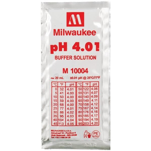 Milwaukee PH4.01 Kalibrierlösung 20 ml